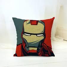 cartoon style fashion decorative cushions marvel heroes printed