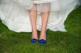 wedding shoes for grass maine wedding officiant