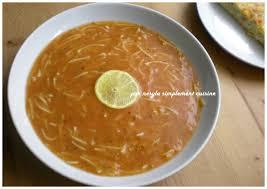 cuisiner sans viande chorba vermicelles sans viande soupe algéroise simplement cuisine