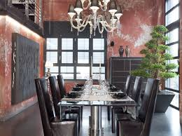 black white and red industrial dining room to clearly marco