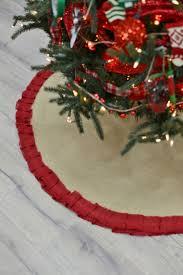 Christmas Tree Skirt Burlap 159 Best Christmas Decor Images On Pinterest Christmas Decor