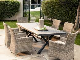 9 Piece Patio Dining Set - patio 20 outdoor patio wicker furniture new all weather resin