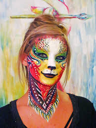 kitty cat facepaint makeup by natashakudashkina on deviantart