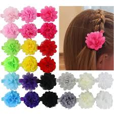 Flower Clips For Hair - amazon com hair bows coxeer 40pack hair bows for baby