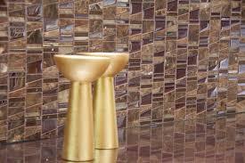 bathroom mosaic tile wall glass high gloss trip asi