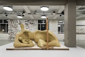 Burberry Home Decor by Henry Moore Pieces In Display At Burberry U0027s Runway Show