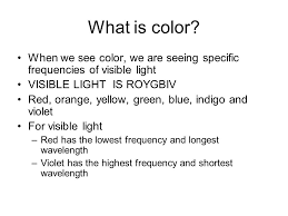 What Color Of Visible Light Has The Longest Wavelength The Eye Function Structure Focus Vision Correction Ppt Download