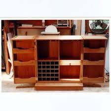 Folding Bar Cabinet Hand Made Folding Bar By Terry U0027s Fine Woodworking Custommade Com
