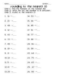 the 25 best rounding worksheets ideas on pinterest math round