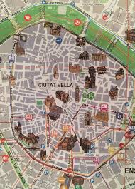 Map Of Valencia Spain by First Impressions