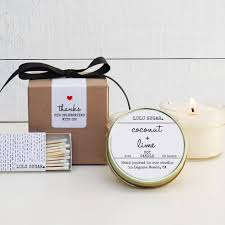 wedding favors candles wedding favor candles set of 6 4 oz coconut lime scented