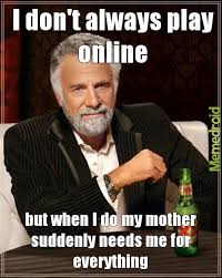 One Does Not Meme - one does not simply pause an online game meme by timtran809