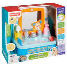 fisher price let s get ready sink fisher price laugh learn lets get ready sink 28 00 hamleys