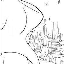 fighting darth vader coloring pages hellokids