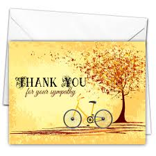 thank you for sympathy card 10 cycle thank you for your sympathy cards all ways design