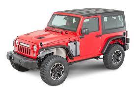 jeep wrangler models list cliffride crowbar fender flares for 07 18 jeep wrangler jk quadratec