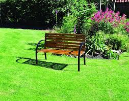 funky buys traditional 2 seater norwegian hardwood garden park