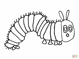 caterpillar and butterfly coloring pages geborneo club