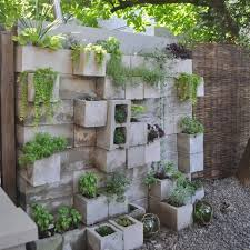 put your favorite plants on display with a gorgeous cinder block