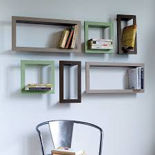 Decorate Office Shelves by Wall Shelves For Office