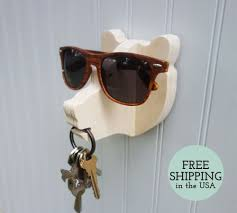 Key Storage Ideas The Jungle Hook Bear Head Wall Hanger For Keys Glasses And
