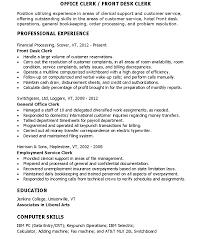 Order Management Resume Sample by Office Office Clerk Resume