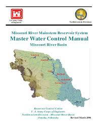 master manual missouri river national environmental policy act