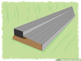 Patio Door Sill Pan How To Replace A Door Sill With Pictures Wikihow