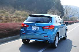 mitsubishi outlander sport 2016 blue 2011 mitsubishi outlander sport japanese spec first drive and