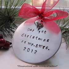 our first christmas ornament personalized ornament couples