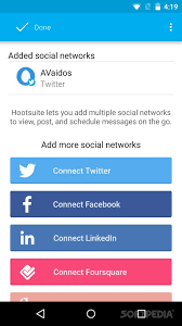 hootsuite for android hootsuite for social for android