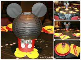 Mickey Mouse Center Pieces Easy Mickey Mouse Centerpieces Jackson U0027s Mickey Mouse Themed