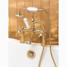Clawfoot Tub Faucet With Diverter Leg Tub Fillers With Diverter
