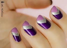 55 most stylish purple nail designs