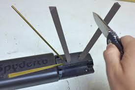 spyderco sharpmaker kitchen knives how to sharpen a knife part ii alloutdoor com
