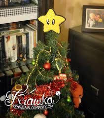 krawka my christmas tree crochet christmas tree ornaments