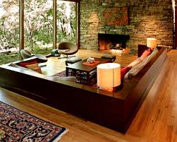 How To Build A Floor For A House Living Room Interior Design And The Natural Stone How To Build A