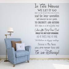 we do disney house rules vinyl wall art sticker quote kids we do disney house rules vinyl wall art sticker quote kids family wqb15 ebay