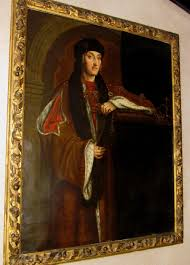 important 16thc portrait of tudor king henry vii 7th b1457 d1509