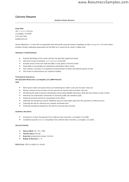 chef resume sample australia u2013 inssite