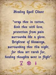 white light healing prayer healing spell chant light a white candle and chant this three times