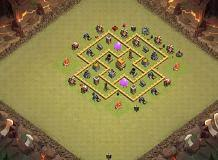 coc map layout th6 th6 war base layouts top 1000 clash of clans tools