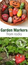 Garden Crafts For Adults - garden rock caterpillar kinder garden rock and craft