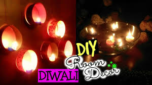 diy diwali room decor ideas quick u0026 easy floating candles
