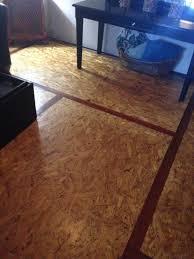 diy osb board flooring diy osb cheap flooring ideas
