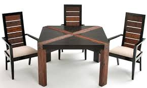 modern wooden chairs for dining table rustic contemporary modern wood dining table sustainable