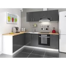 cuisine cdiscount meuble cuisine noir pas cher meuble bas cuisine 3 portes pas cher