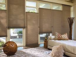 Honeycomb Blinds Lowes Decorating White Hunter Douglas Blinds Costco With Dark Crown