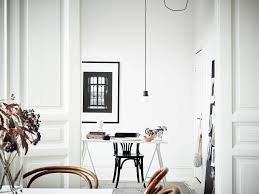 Sweedish Home Design Stylish Black And White Home Coco Lapine Designcoco Lapine Design