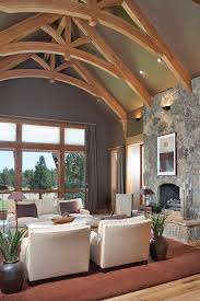 Decorative Beams Gray Ceiling Beams Living Room Beach Style With Coffered Ceiling